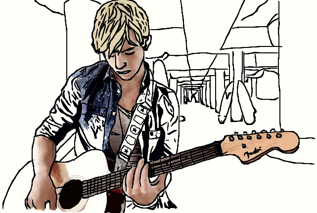 ross lynch coloring pages - photo#14