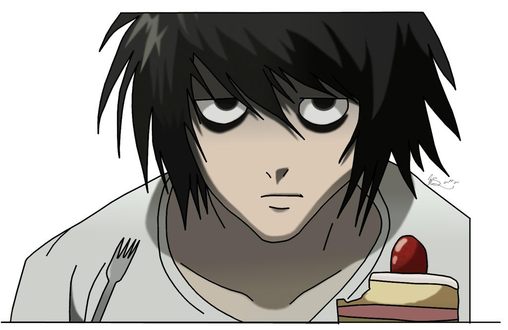 Image Gallery l lawliet cake
