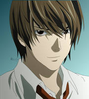 Light Yagami - Colored by MouseSky