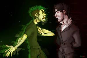 Anti vs Dark by nikodindorokhin