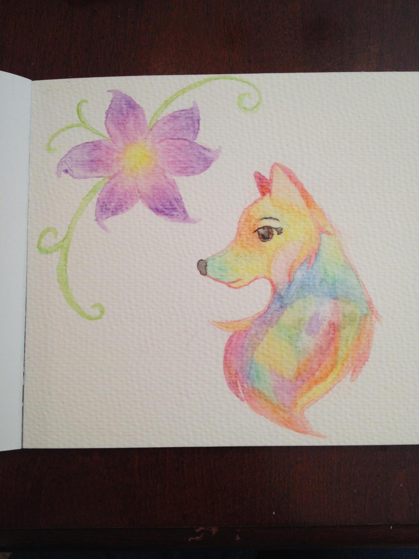 Watercolor Pencil Fun by MusicalWolf35 on DeviantArt