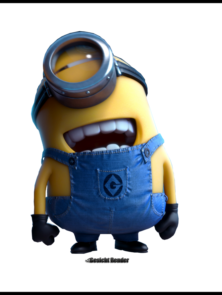 Despicable me 2 minions render by enabels on deviantart