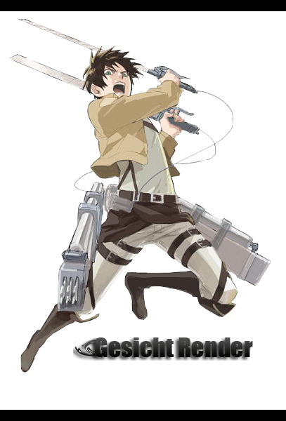 Eren Jaeger Render by Enabels