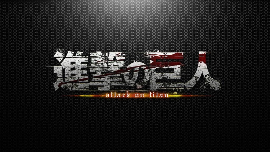 Shingeki No Kyojin Logo Wallpaper By Enabels On Deviantart
