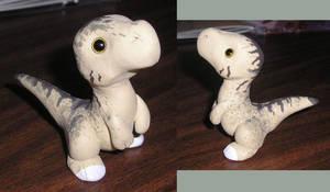 Chibi Raptor Sculpt by gryphonworks