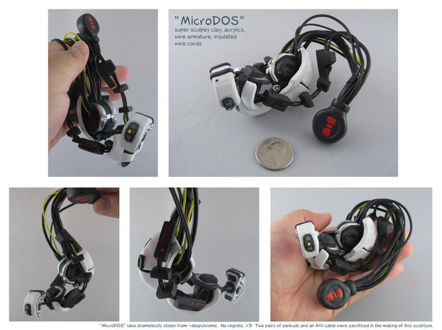 Micro GLaDOS Sculpture