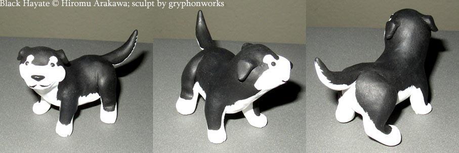 Black Hayate Mini-sculpt by gryphonworks