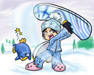 Maple Story - Snowboard Whap