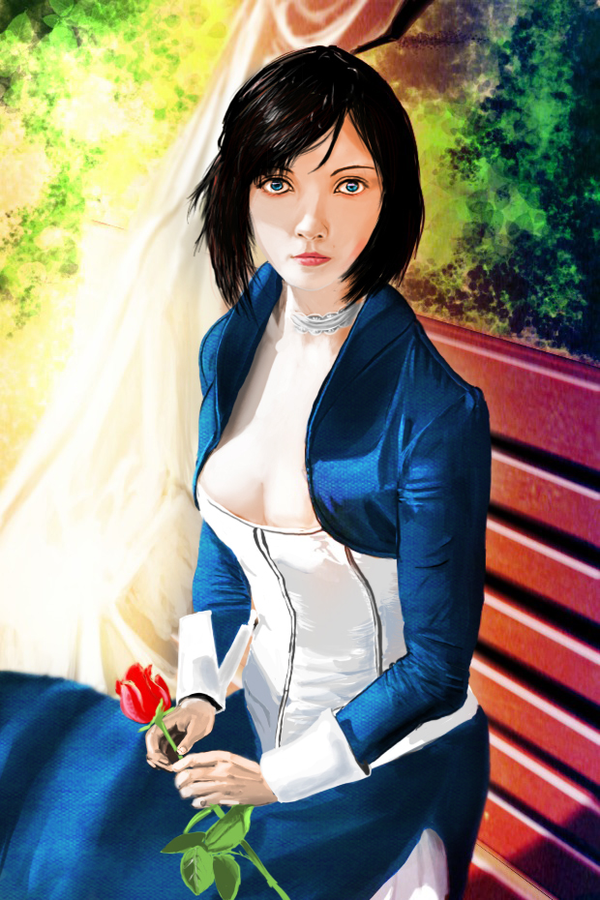 Bioshock Infinite Elizabeth by farmerfren