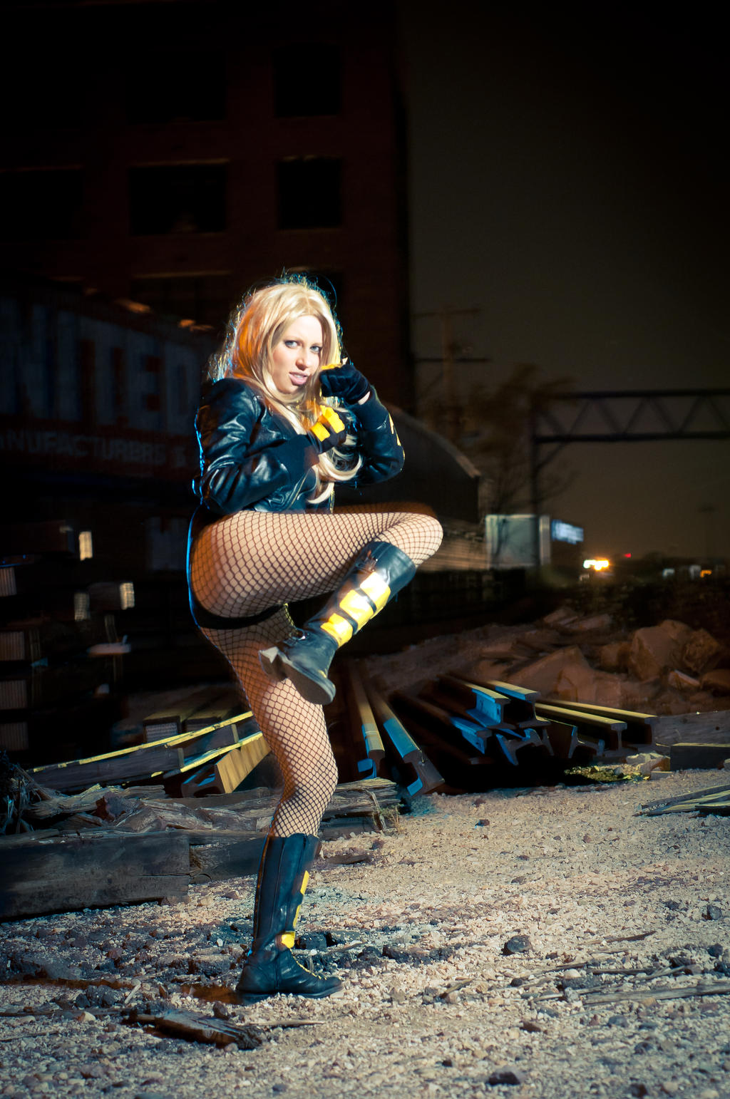 Black Canary 4 by Freakinblack