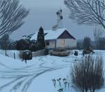 Paintstudy Simon Stalenhag