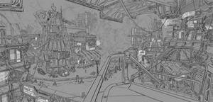 Bravestarr: Fort Kerium - WIP 02