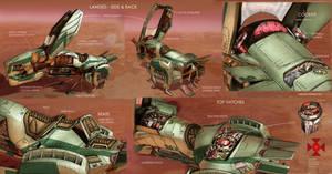 Bravestarr: TurboMule - Final Details