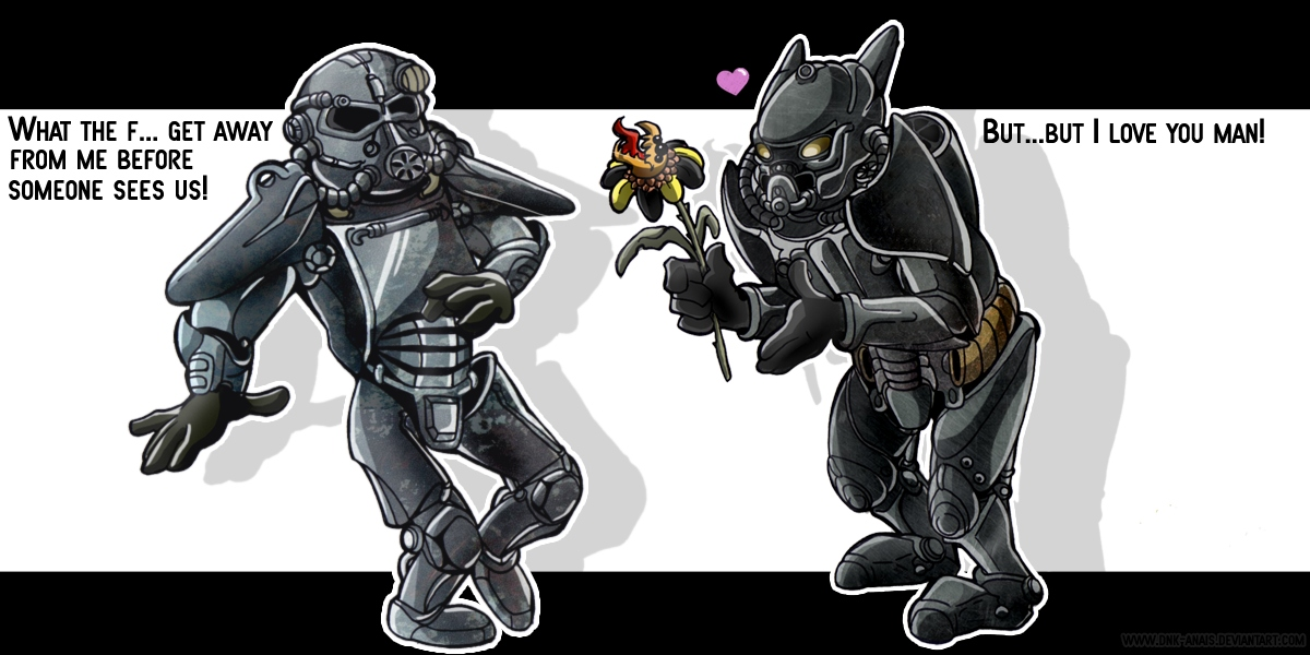 Fallout 3 Forbidden Love By Dinkysaurus