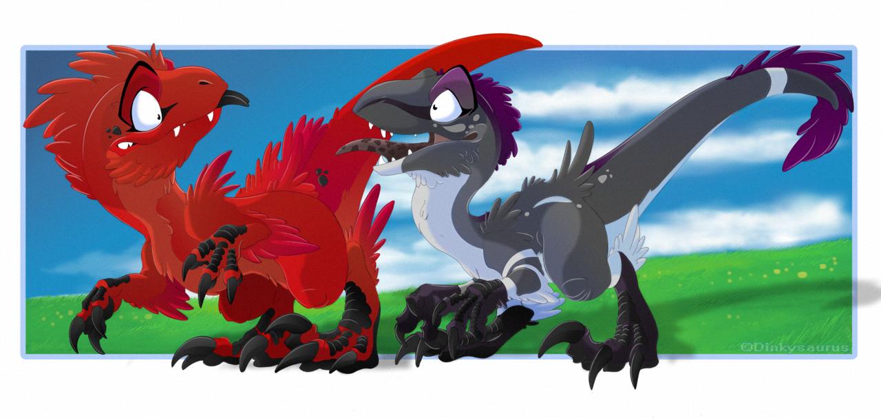 Fluffysaurus by Dinkysaurus