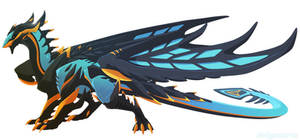 [Com] Custom dragon-  meeuw559 by Dinkysaurus