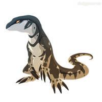 [Custom] Megalania- Hyenphea by Dinkysaurus