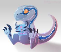 Blue by Dinkysaurus