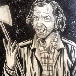 Jack Torrance from the shining film by Alex-Yi74