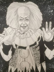 Prnnywise the clown from it by Alex-Yi74