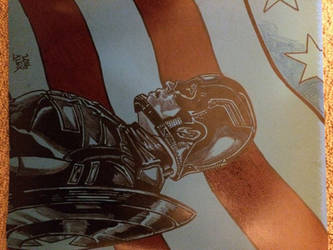 Captain America  by Alex-Yi74