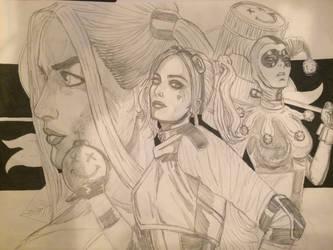Harley quinn by Alex-Yi74