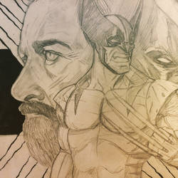 The wolverine and old man logan