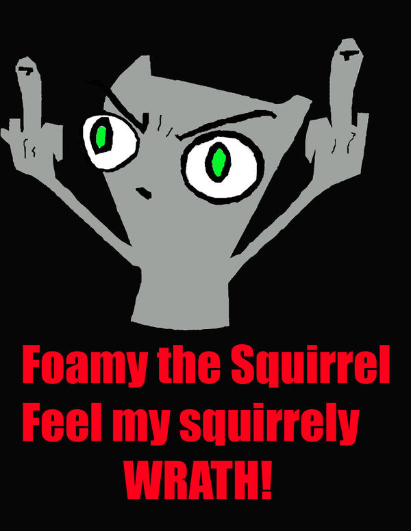 Foamy the squirrel dating advice