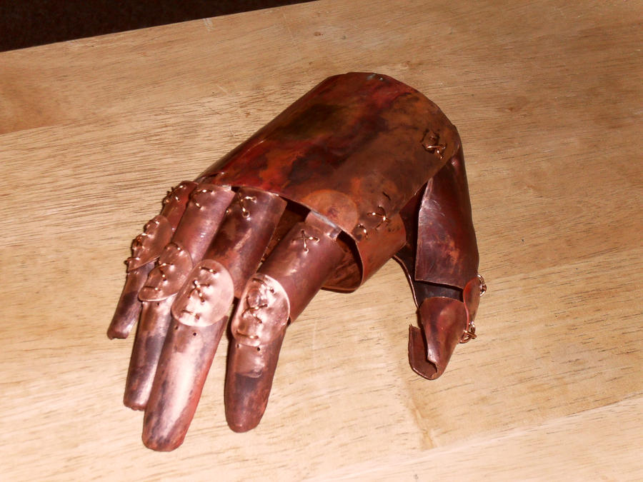 Copper Hand by RawrDinosawrWS