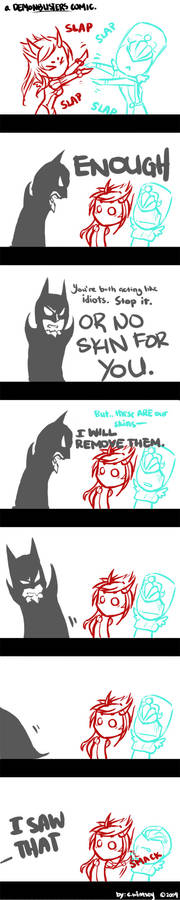 Demonbusted: a Gaia comic