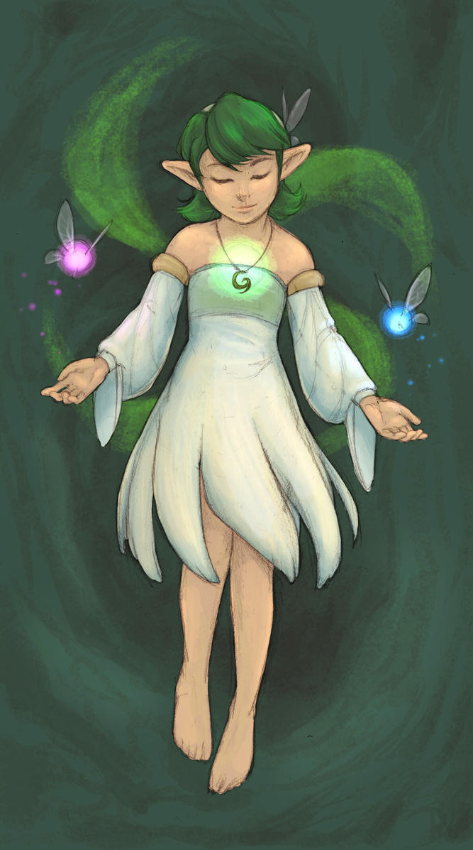 Saria-club contest: New Outfit by wings33