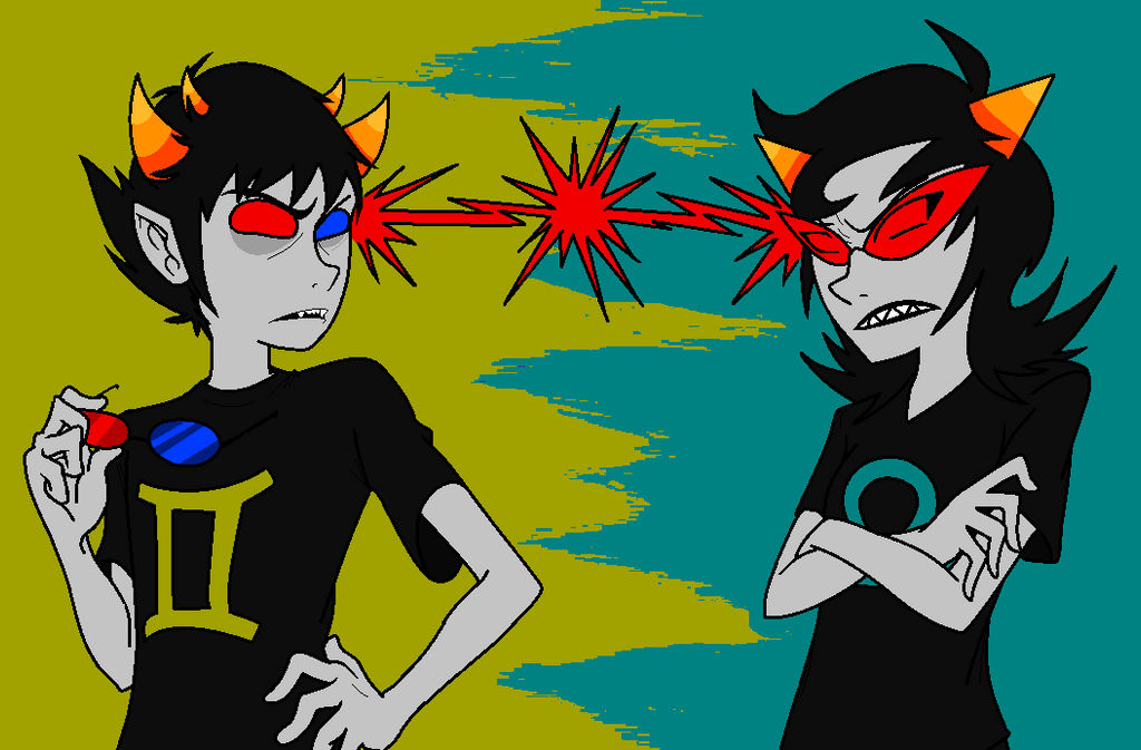 outfit cosplay homestuck sollux and terezi