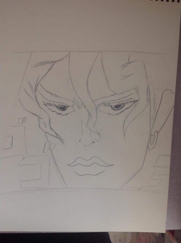 Dio Brando Fan art WIP by DreadloxO3O