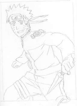 Naruto-lineart