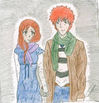 ichihime holding hands