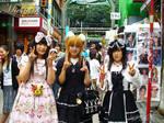 girls in harajuku