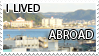 i lived abroad stamp by mishkuu