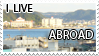 i live abroad stamp by mishkuu