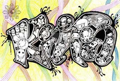 KATA Doodle Name by jhongvf
