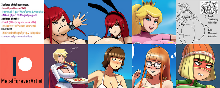 September 2020 Patreon Preview