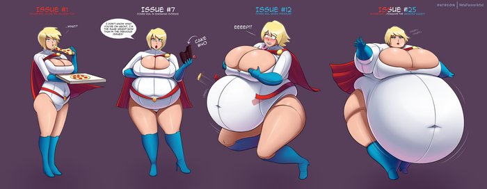 Power Girl's Powerful Appetite