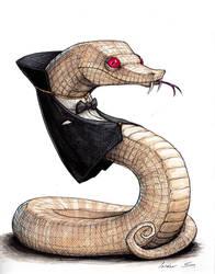 Vampire snake by IsidorSwande