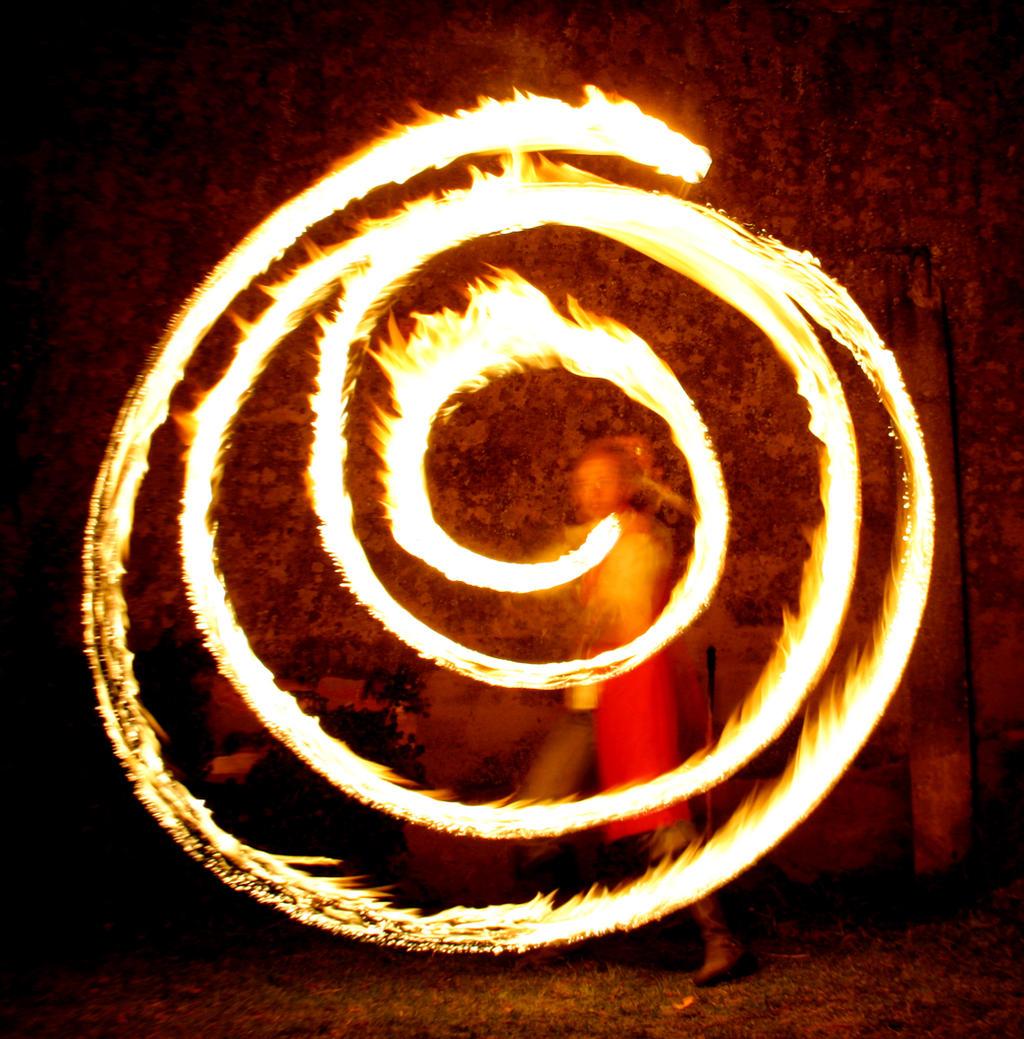 Fire Spiral II