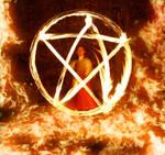 Burning Pentagram