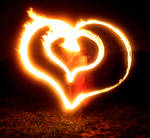 Twin Hearts Burning With Love
