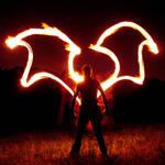 Fire-Winged Batman