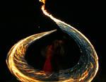 Blue Snake of Fire