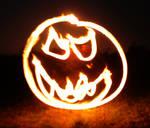 Fire Pumpkin by MD-Arts