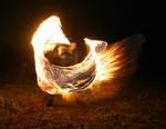 Flaming wing