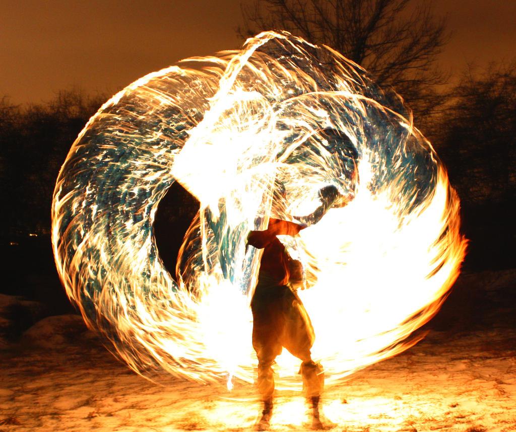 Giant Fire Chimaira